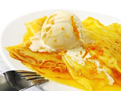 Crepes Suzette vom Grill