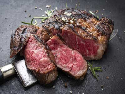 gegrilltes Rib Eye Steak