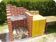 gemauerter grill bausatz – proxyagent, Gartengestaltung